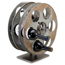 Shop francis ford coppola winery for Movie reel wine rack
