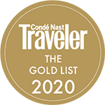 Conde Nast Traveler Gold List 2020.