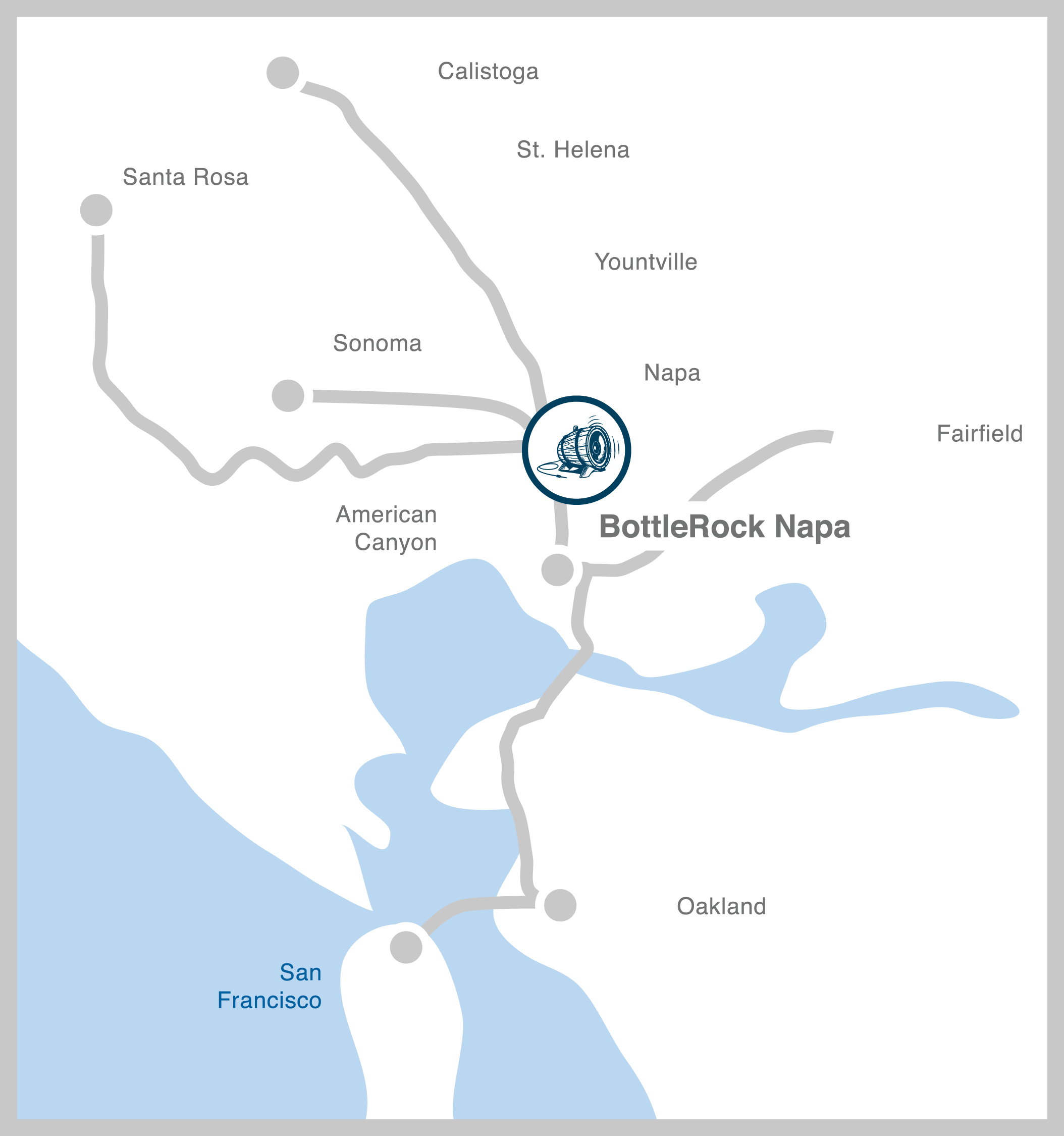 The Family Coppola Blog - Map of napa hotels