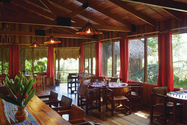 San Ignacio.  Hotel Blancaneaux Lodge.  Белиз.