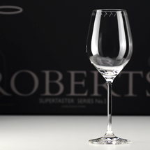 Roberts White Glass Set