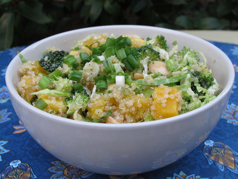 ... Recipe of the Week: Quinoa with Vegetables & Honey Mustard Vinaigrette