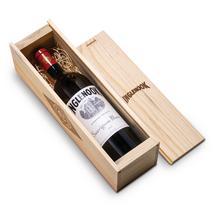 2017 Sauvignon Blanc with Pinewood box