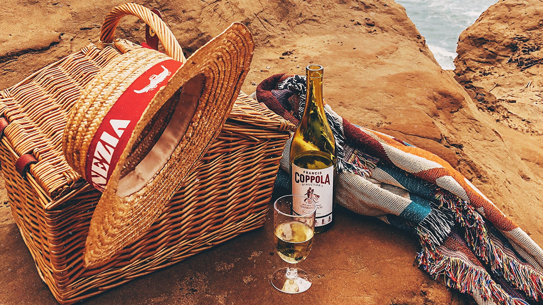 Picnic at the beach.