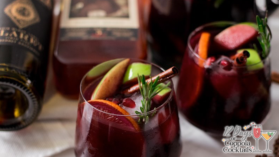 Two glasses of sangria.