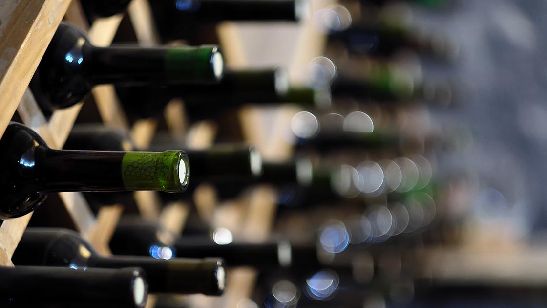 Wine expiration date.