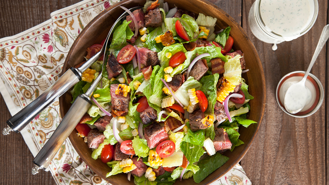 Steak Salad.