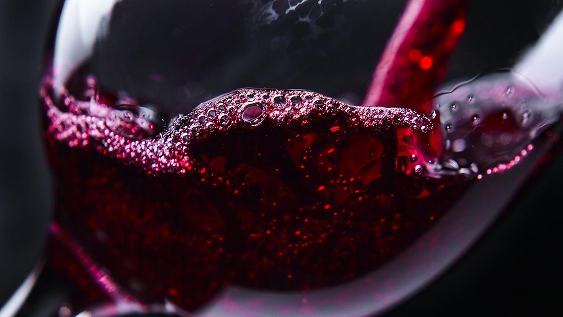Wine sediment.