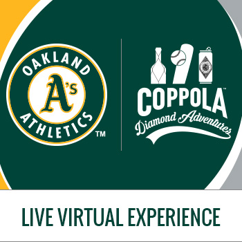 Live Virtual Tasting Experience with the A's