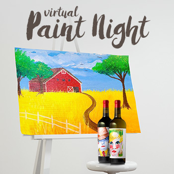 Virtual Paint Night.