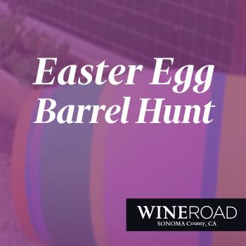 Easter Egg Barrel Hunt Event.
