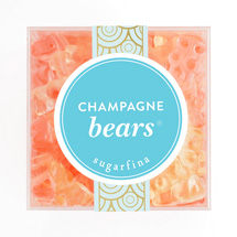 box of champagne gummy bears