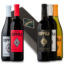 Diamond Collection wines with gift box