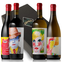 two bottles of Reserve wine with gift box