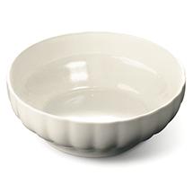 Large white pasta bowl