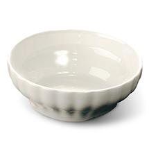 Small white pasta bowl