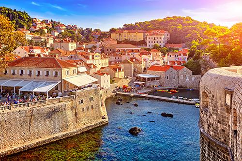 Bokar in Dubrovnik, Croatia.