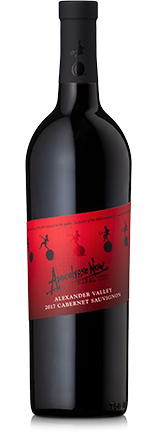 A bottle of Director's Apocalypse Now Final Cut Cabernet Sauvignon red wine.