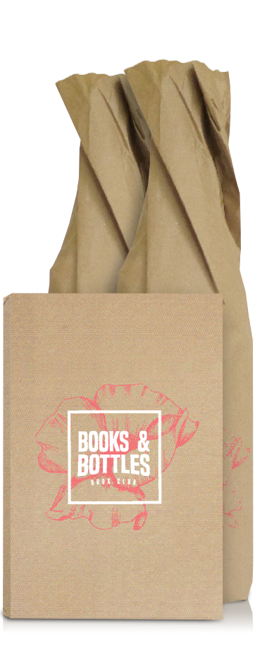 Books & Bottle set packaging.
