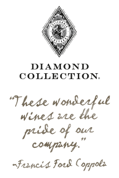Francis Ford Coppola Winery Diamond Collection wines