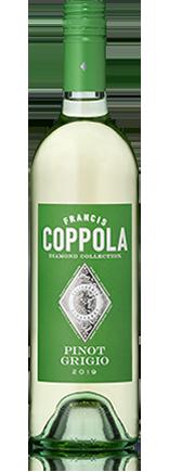 Diamond Collection Pinot Grigio 2019 bottle.
