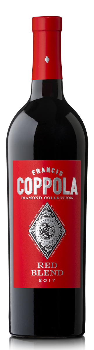 Bottle of Diamond Collection Red Blend 2017.
