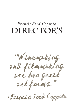 Francis Ford Coppola Winery Director's wines