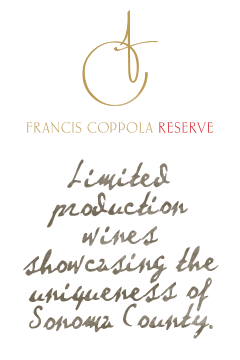 Francis Ford Coppola Winery Francis Coppola Reserve wines