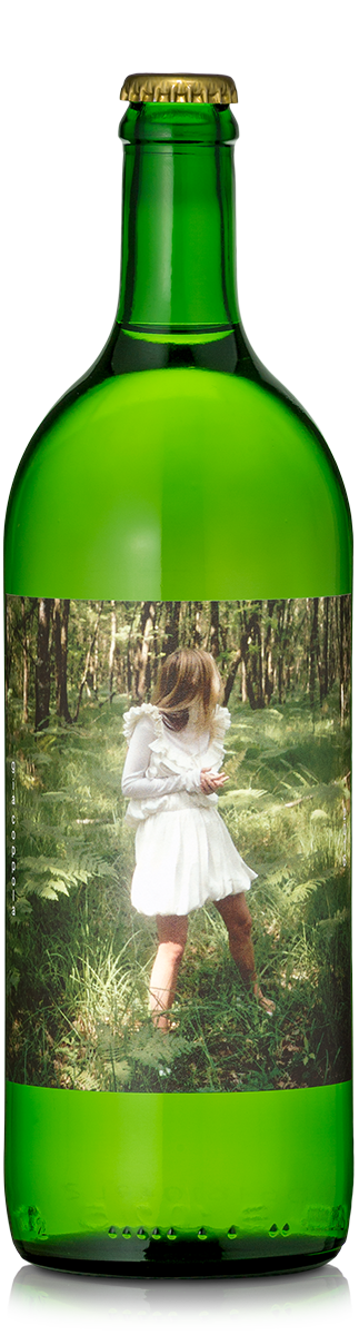 Selfish white wine label