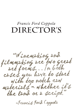 Francis Ford Coppola Winery Director's Great Movies wines