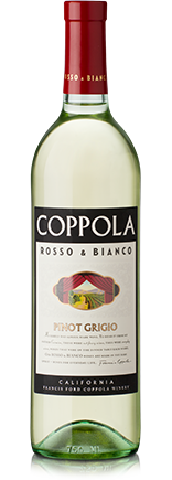 Rosso and Bianco Pinot Grigio