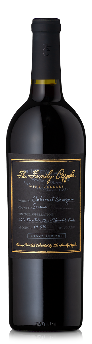 Bottle of The Family Coppola Pine Mountain – Cloverdale Peak  Cabernet Sauvignon