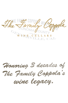 Francis Ford Coppola Winery - The Family Coppola Wine Cellars wines