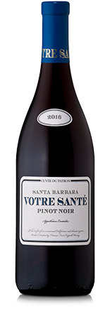 Santa Barbara Votre Santé Pinot Noir