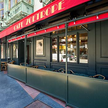 Cafe Zoetrope exterior