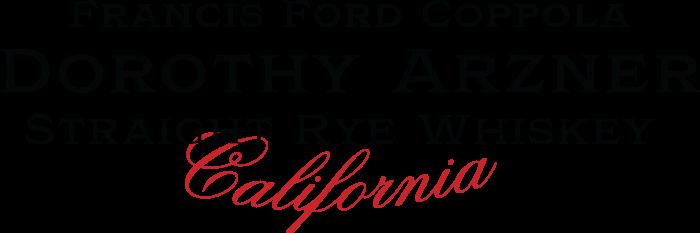 Dorothy Arzner Rye Whiskey Logo