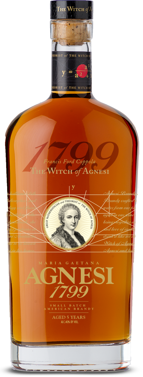 Agnesi 1799 Brandy Bottle Shot