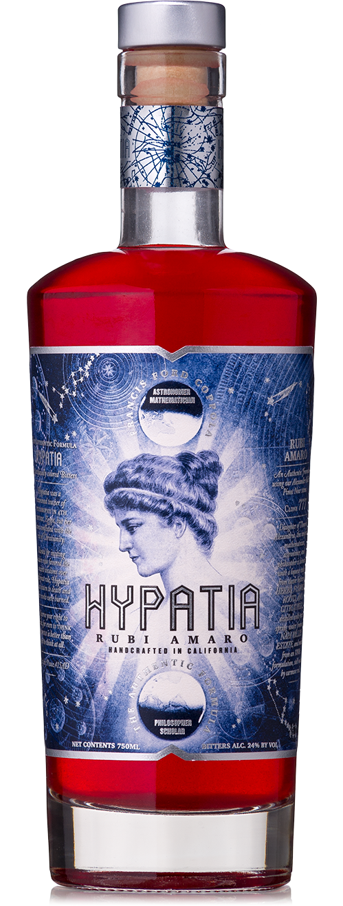 Hypatia Rubi Amaro Bitters Bottle shot