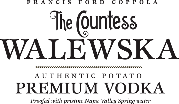 The Countess Walewska Premium Vodka Logo