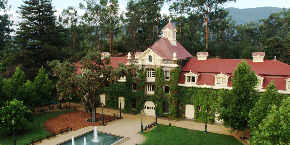 The Family Coppola's estate in Napa Valley