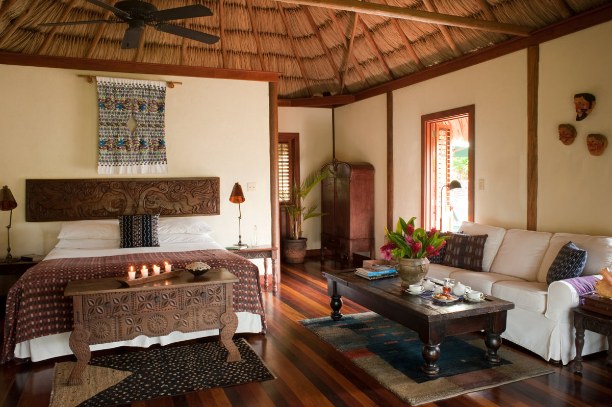 Cabanas In Belize  Luxury Caba U00f1as At Blancaneaux Lodge