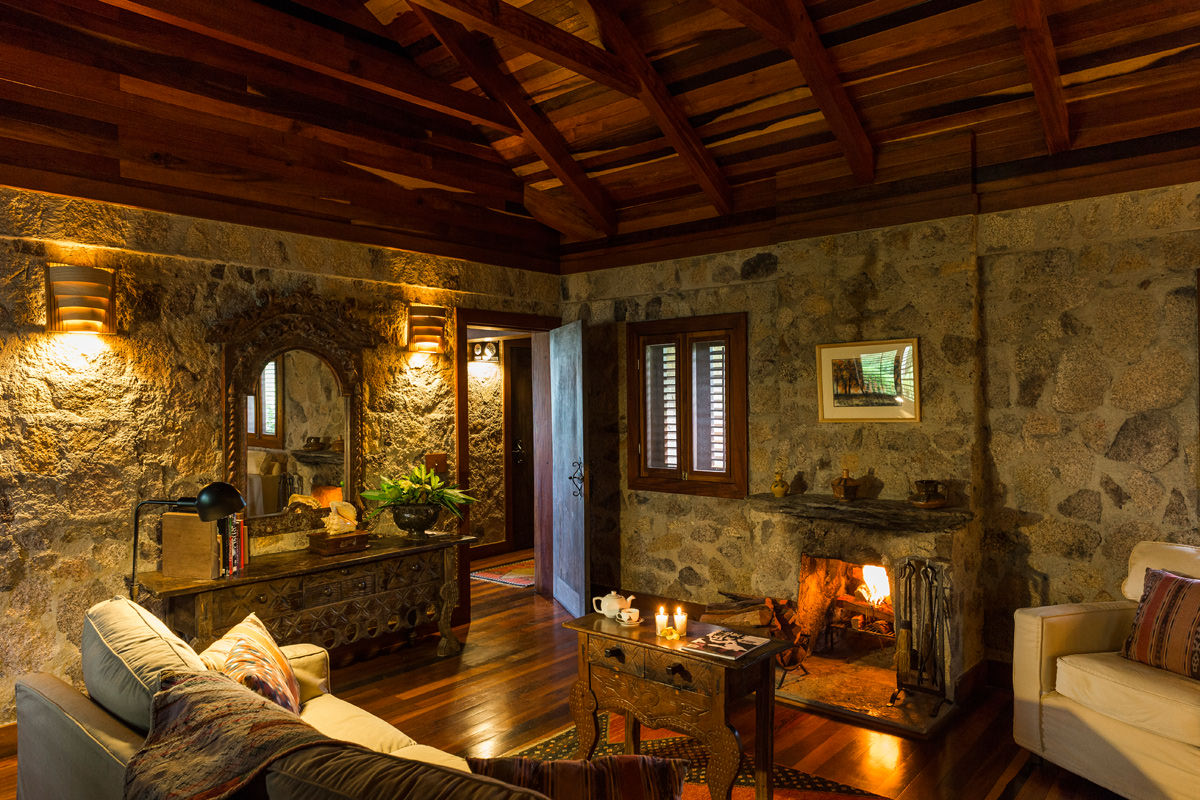 Belize Boutique Hotel Belize Luxury Dwelling Enchanted Cottage At Blancaneaux Lodge