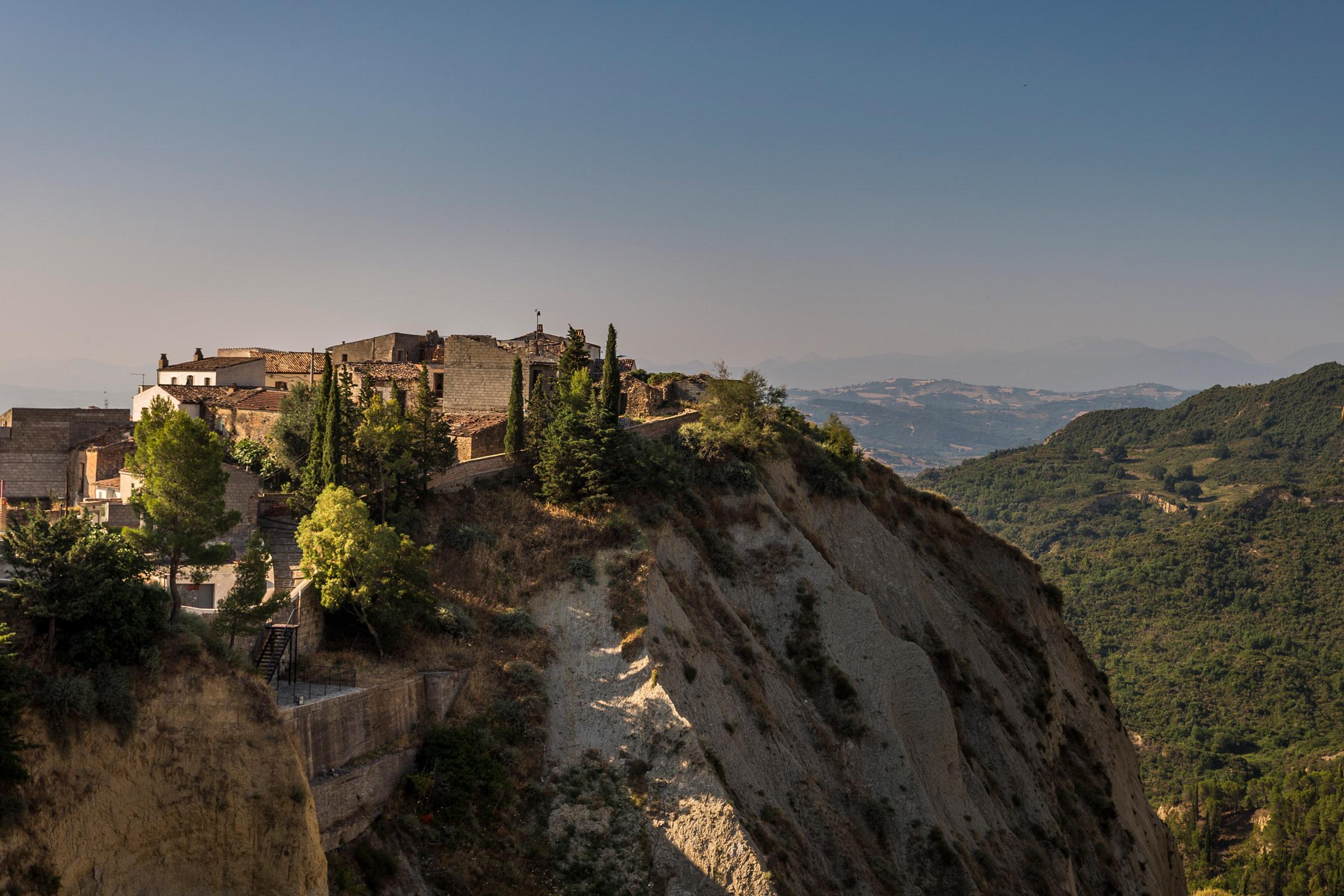 Italy Historic Sites  Aliano Literary Park