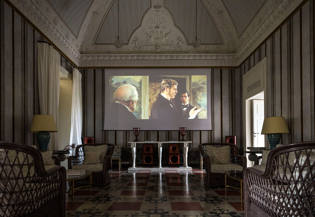 film screening in the salon
