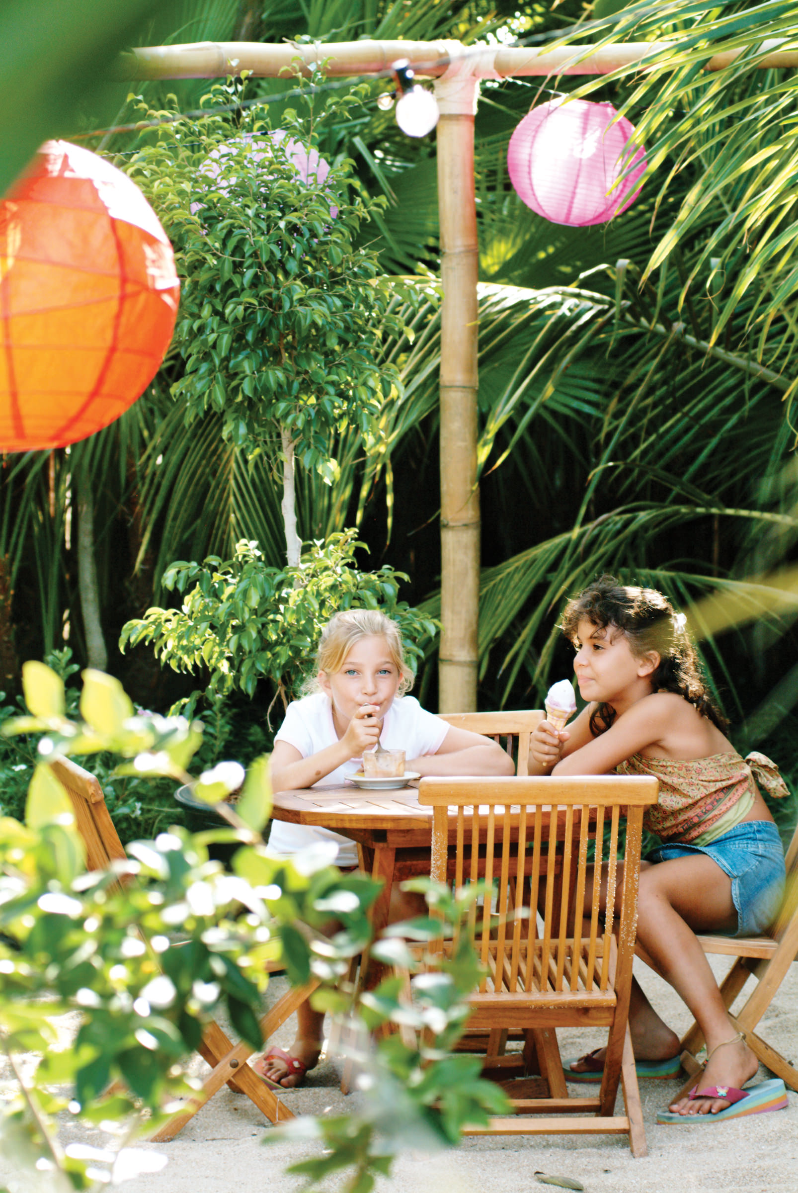 Kids Gelato Bar At Turtle Inn Things To Do In Belize With