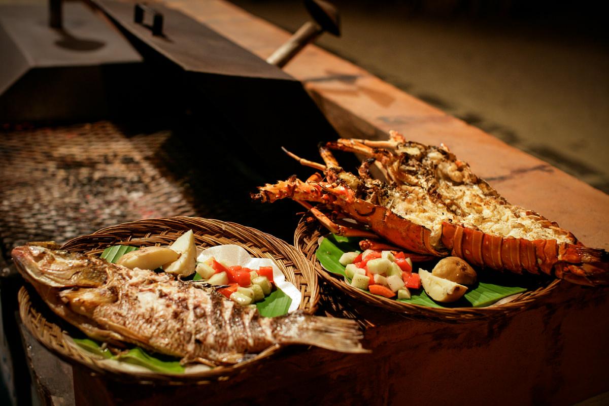 Belize Beach Restaurant, Belize Dining - The Gauguin Grill at Turtle Inn