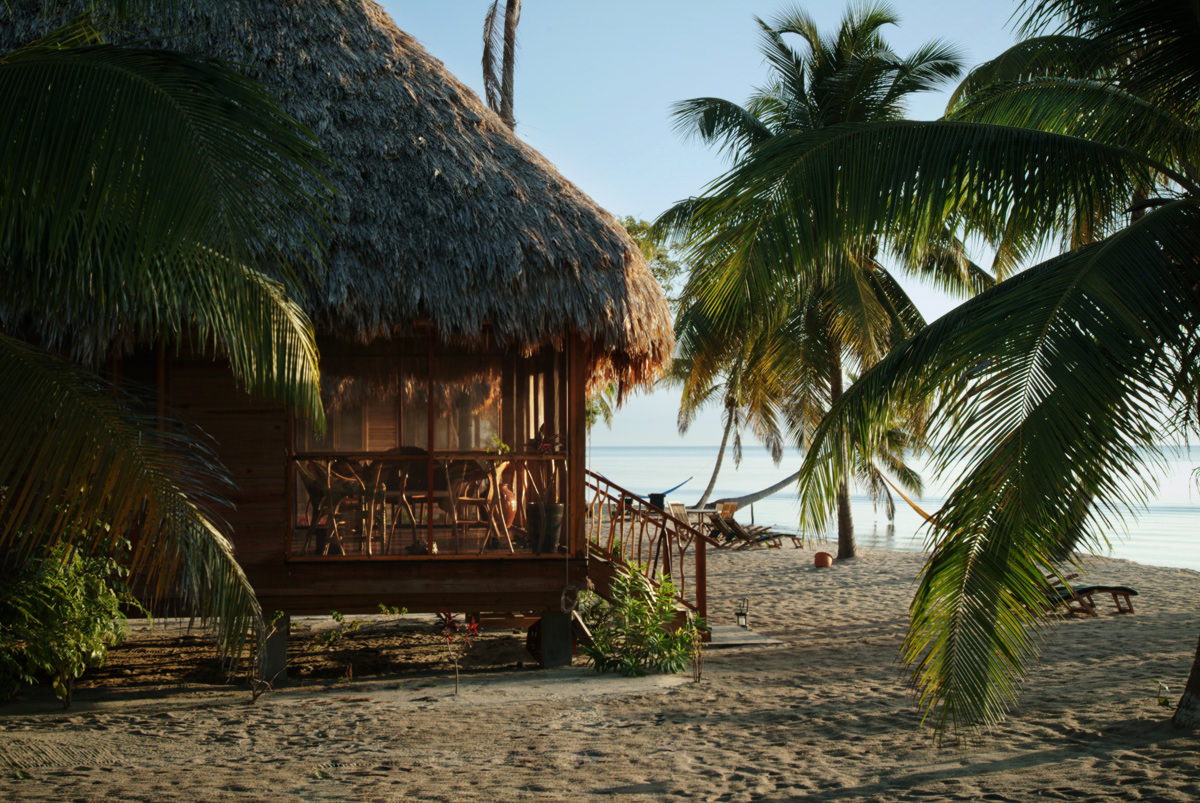 Seafront Cottages At Turtle Inn Resort Belize Beach