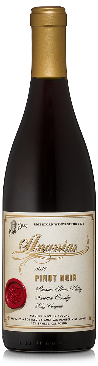 The Roanoke Collection Ananias Pinot Noir