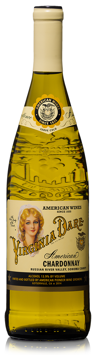 The Virginia Dare Showcase Wines  Virginia Dare Russian River Valley Chardonnay