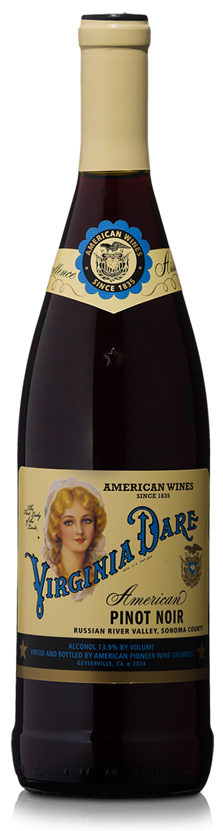 The Virginia Dare Showcase Wines  Virginia Dare Russian River Valley Pinot Noir